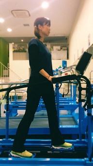 すり足マシン 大腰筋トレーニング