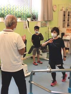 小林寛道 十坪ジム カンド君 ランナー トレーニング QOMジム 健身塾 個別指導