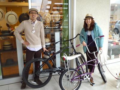 自転車日和の撮影�