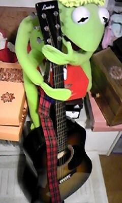 ギターとカーミッツ