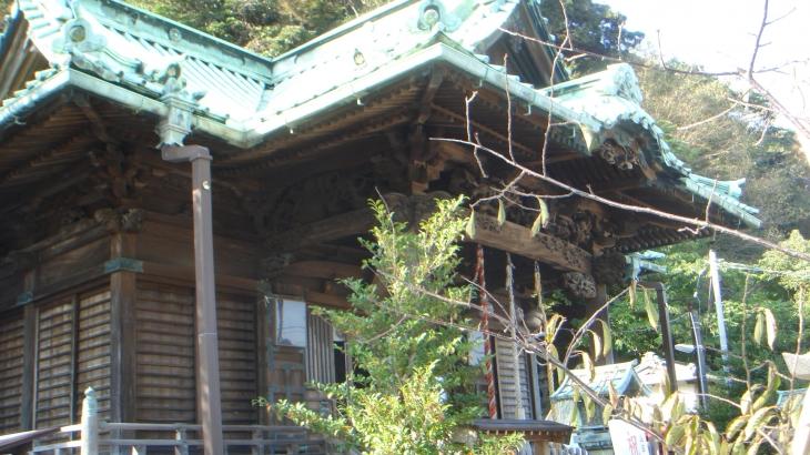 西叶神社拝殿