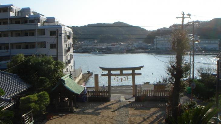 東叶神社からの眺め
