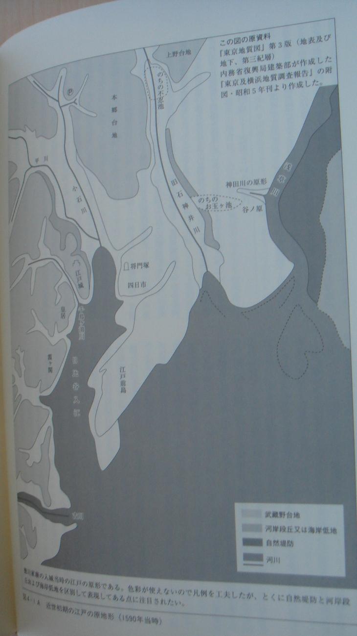 1590年当時の東京湾