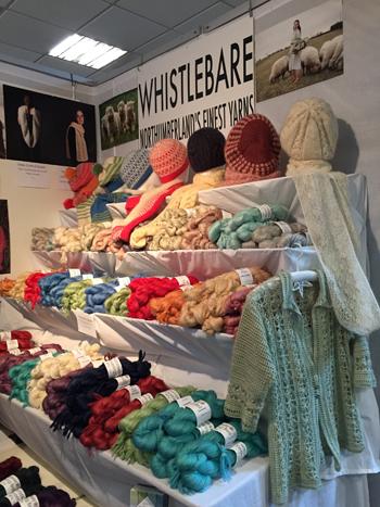 Wensleydaleとモヘアの糸の店