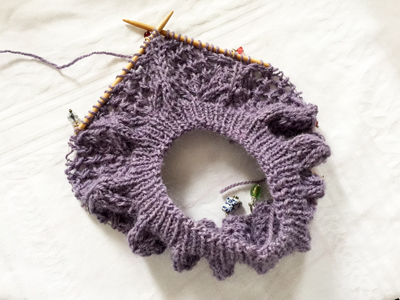 Linga編んでます