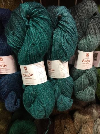 Ysoldaのブースのノルウェーの糸