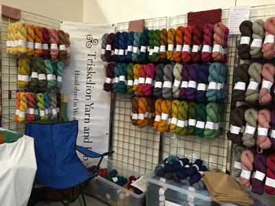 Triskelion Yarnのブース