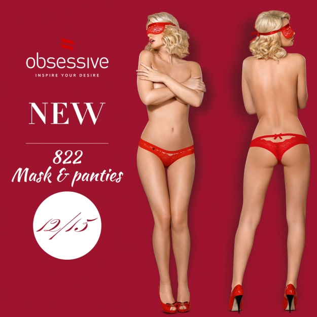 Obsessive 822 mask set red
