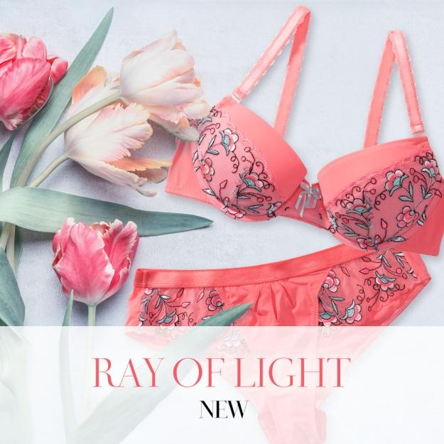 Sawrenノスタルジーを呼び起こす上品ピンク「Ray of light」