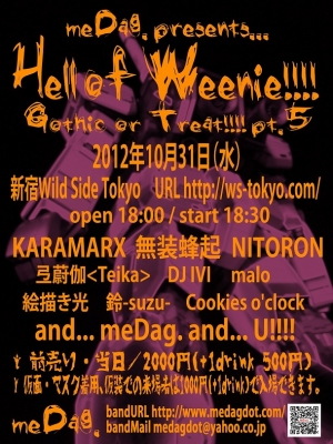 Hell of Weenie!!!!2012フライヤ