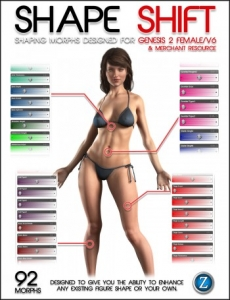 Shape Shift for Genesis 2 Female and V6
