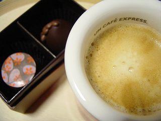 コーヒーとチョコって最高の組み合わせ