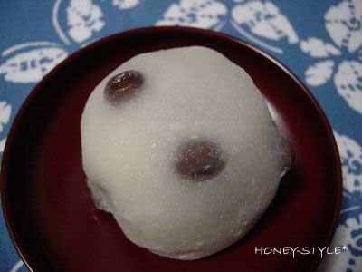あけぼの 豆大福