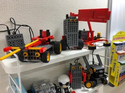 ヒューマンアカデミー ロボット教室|ロボット改造後の姿