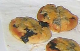 和風ピザパン〜しょう油と海苔、チーズがいい感じです