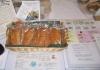 宮城県産米粉80%グルテン20%の米粉パンです。