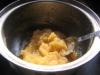 少し液体っぽいので米粉を入れてチョッと煮てまとめました。
