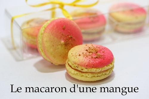 マンゴーのマカロン�