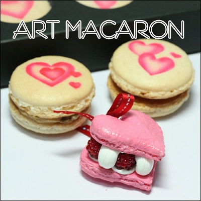 ハートマカロンではない「アートマカロン」�
