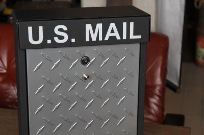 かっこいいメールボックス