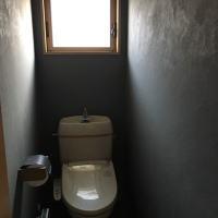 塗り壁トイレ