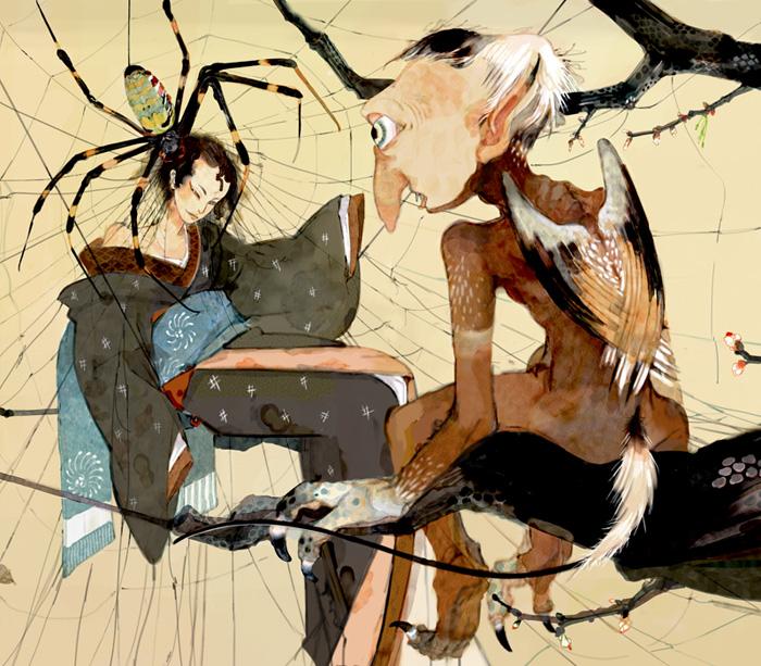 Beautifully disturbing art