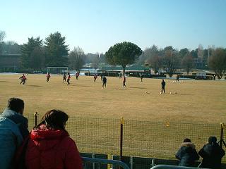 Inter練習場