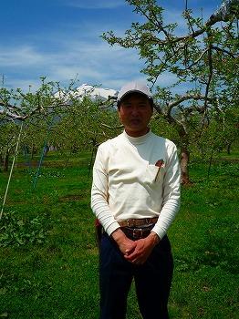自然栽培りんごの生産者・対馬正人さん