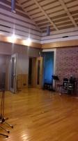 スタジオ到着