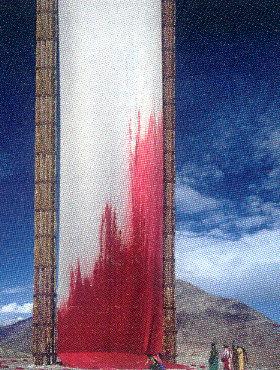 血のような赤