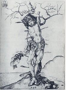 ショーンガウア《聖セバスティアヌス》