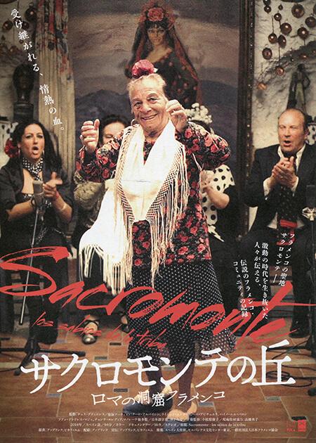 映画『サクロモンテの丘〜ロマの洞窟フラメンコ』チラシ1