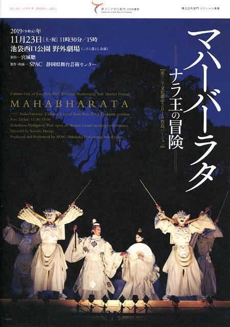 『マハーバーラタ〜ナラ王の冒険〜』-東アジア文化都市2019豊島バージョン- パンフレット