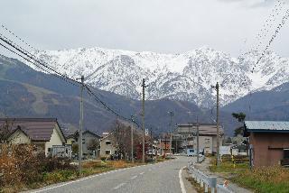 山は雪〜!!