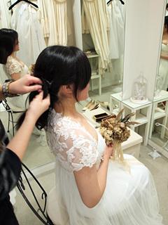 CliO mariage(クリオマリアージュ) ドレス試着