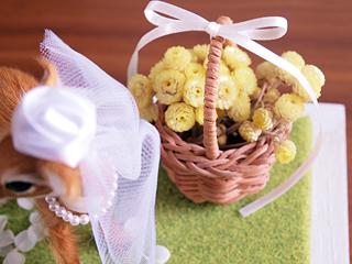 イモーテルの花かご