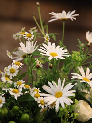 自由学園明日館ウェディング 高砂の装花