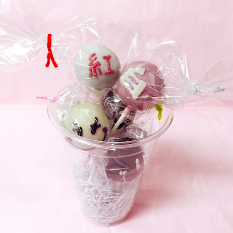 mihopan popcake 紅白スタイル