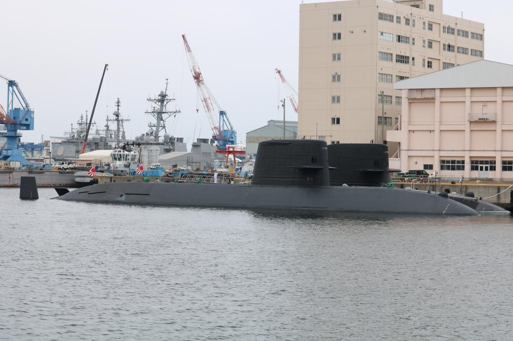 横須賀 潜水艦