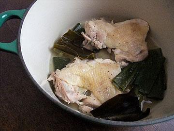 蒸し鶏パリパリ1