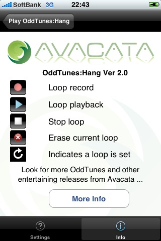 OddTunes:Hang