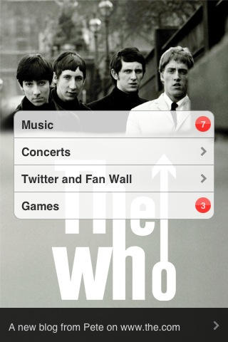 The Who - Official App