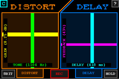 Distort+Delay