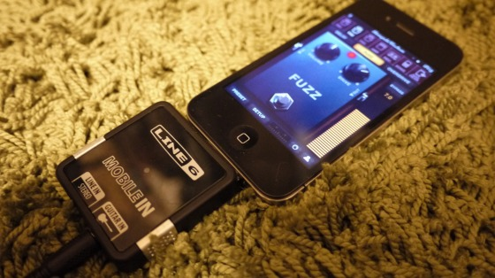 AmpliTube mobile in