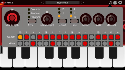 Redshrike Synthesizer