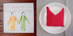 napkin book