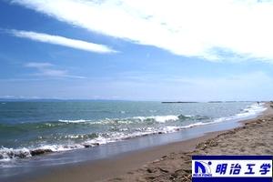 新潟市小針浜(青山海岸)の画像