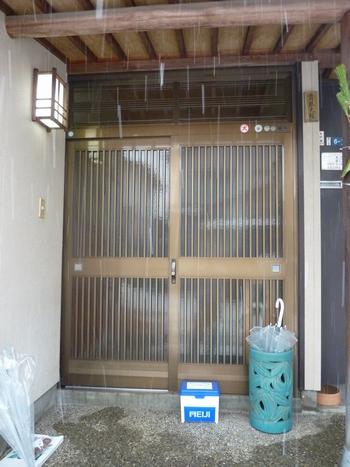 玄関引き戸リフォーム