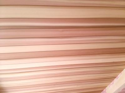 節なし無垢材の天井 自然素材の美しさ