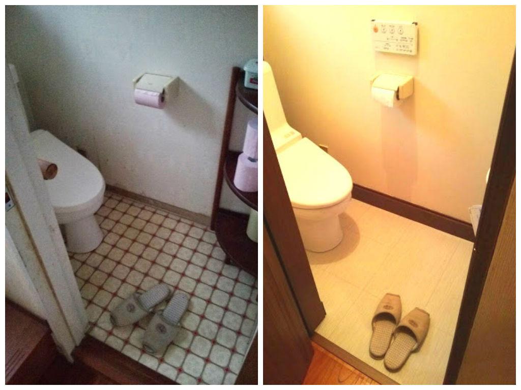 トイレ 住宅改修工事 ビフォーアフター画像
